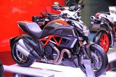 Ducati motorbike Royaltyfria Foton
