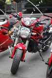 Ducati in Motorbike 2014 Royalty Free Stock Photo