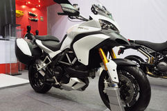 Ducati motorbike show Royalty Free Stock Images