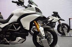 Ducati motorbike show Stock Photo