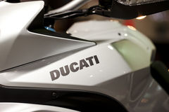 Ducati motorcycle Royalty Free Stock Images