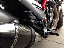 Ducati motorcycle stock image