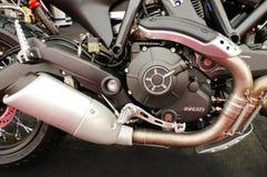 Ducati motorcycle - motor detail