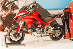 Ducati Multistrada μοτοσικλέτα 1200 - του 2015 Στοκ φωτογραφία με δικαίωμα ελεύθερης χρήσης