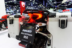 Ducati Multistrada 950. BANGKOK - MARCH 28 : Ducati Multistrada 950 on display at The 38th Bangkok International Motor Show : Reach to The Planet of Technology Stock Photography