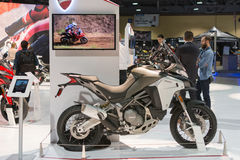 Ducati Multistrada 1200 Enduro Stock Photo