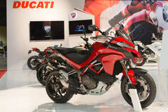 Ducati Multistrada 1200 Stock Images