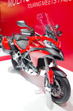 2013 Ducati Multistrada Models First Look Motorcycle. Royalty Free Stock Photos