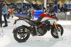 Ducati Multistrada 1200 Pikes Peak Stock Photo
