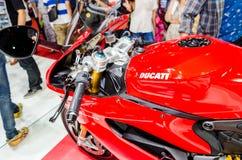 Ducati na exposição automóvel de Tailândia. fotos de stock royalty free