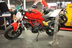 Ducati på den Belgrade Car Show Fotografering för Bildbyråer
