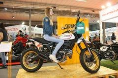 Ducati på den Belgrade Car Show Royaltyfria Bilder