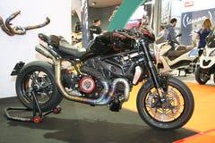 Ducati på den Belgrade Car Show Royaltyfria Foton