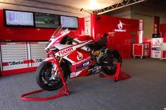 Ducati Panigale 1199 R Team Ducati Alstare Superbike WSBK Arkivbilder