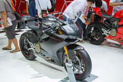 Ducati 1199 Panigale S motorbike Stock Images