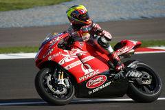 Ducati Pramac Team racer Stock Photography