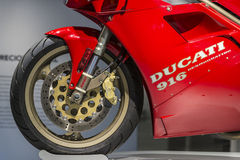 Ducati 916 (quattro desmo) Στοκ Φωτογραφίες