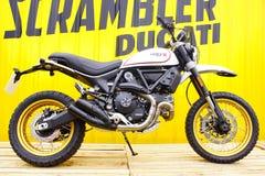 Ducati Scrambler X 400cc. royalty free stock photography