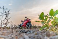 Ducati 899, sportcykel av det Ducati motorinnehavet Arkivfoto