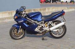 Ducati st2 motorcykel Royaltyfria Bilder