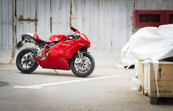 Ducati Superbike 999s Royaltyfria Bilder