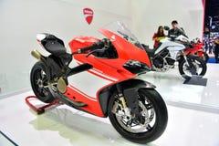 Ducati 1299 superleggera in Bangkok International Thailand Motor. NONTHABURI - MARCH 28: Ducati 1299 superleggera motorcycle on display at The 38th Bangkok Stock Photography