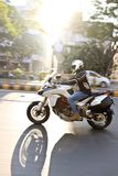 Ducati-Tag der Republik-Fahrt Indien Stockfoto