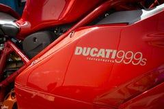 Ducati Testastretta Superbike 999s Fotografering för Bildbyråer