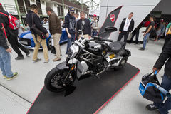 Ducati XDiavel stock afbeeldingen