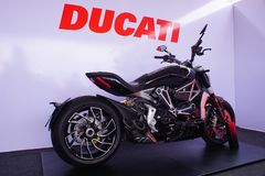 Ducati xDiavel 1200cc. stock photography
