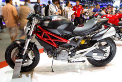 Ducatimonster 795 op de Internationale Motor Expo van Thailand Stock Afbeelding
