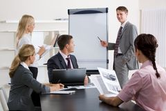 Éducation d'affaires Images stock