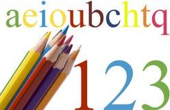Éducation d'école Image libre de droits