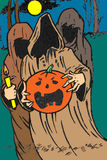 duchów Halloween bania Zdjęcia Royalty Free