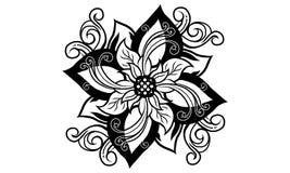 Duch święty kwiat ilustracji