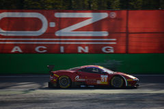 Duch Biegowy Ferrari 488 GTE przy Monza Zdjęcia Royalty Free