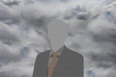 Duch biznesowy mężczyzna Obrazy Royalty Free