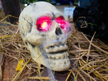 Duch czaszka Zdjęcie Royalty Free