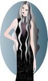 Duch dziewczyna royalty ilustracja