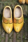 Duch hölzerne Schuhe - Klötze Lizenzfreies Stockfoto