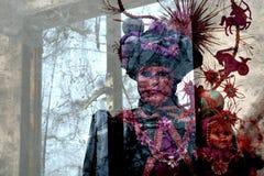 Duch pirat Karaiby obrazy stock