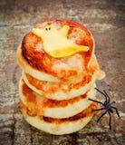 Duch pizze dla Halloween przyjęcia Obrazy Stock