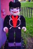 Duch robić lego dla Halloween Fotografia Royalty Free