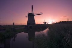 Duch windmill Royalty Free Stock Photography