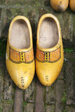 Duch wooden shoes - clogs Royalty Free Stock Photo