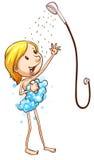 ducha Imagen de archivo libre de regalías