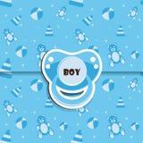 Ducha de bebé - muchacho Fotos de archivo