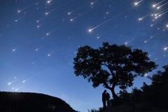 Ducha de la estrella Imágenes de archivo libres de regalías