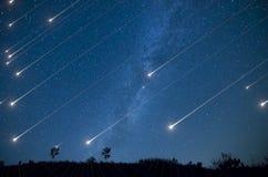 Ducha de la estrella Fotografía de archivo