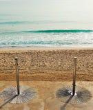 Ducha en la playa Foto de archivo libre de regalías